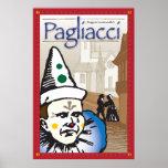 Pagliacci, Opera Poster