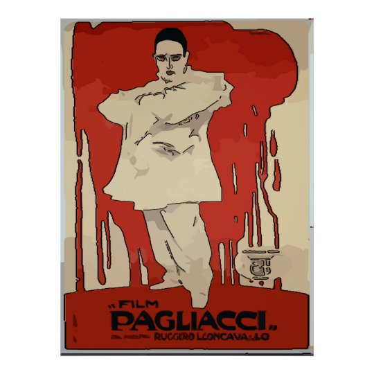 Pagliacci, Vintage Opera Posters, Poster
