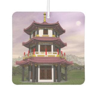 Pagoda - 3D render Air Freshener
