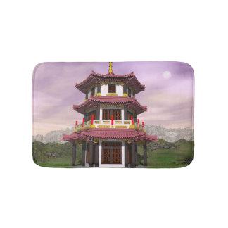 Pagoda - 3D render Bath Mat