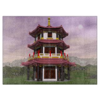 Pagoda - 3D render Boards