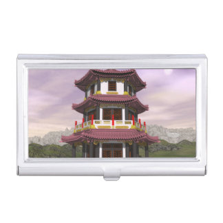 Pagoda - 3D render Business Card Holder