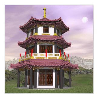 Pagoda - 3D render Card
