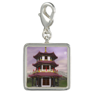 Pagoda - 3D render Charms