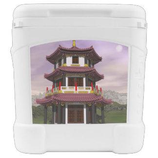 Pagoda - 3D render Cooler