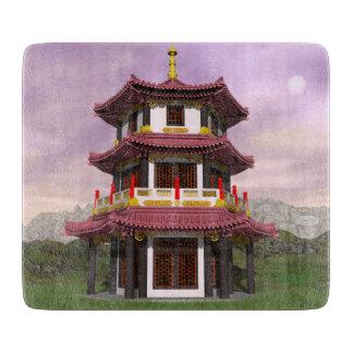 Pagoda - 3D render Cutting Board