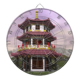 Pagoda - 3D render Dartboard