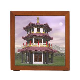 Pagoda - 3D render Desk Organizer