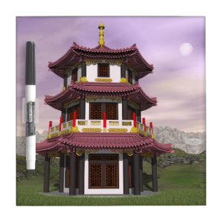 Pagoda - 3D render Dry Erase Board