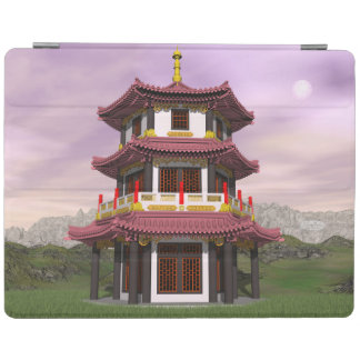 Pagoda - 3D render iPad Cover