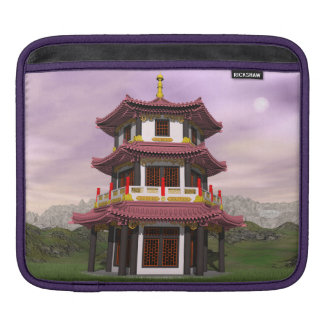 Pagoda - 3D render iPad Sleeve