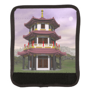 Pagoda - 3D render Luggage Handle Wrap