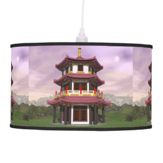 Pagoda - 3D render Pendant Lamp
