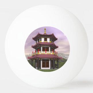 Pagoda - 3D render Ping Pong Ball