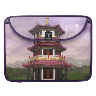 Pagoda - 3D render Sleeve For MacBooks