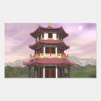 Pagoda - 3D render Sticker