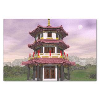 Pagoda - 3D render Tissue Paper