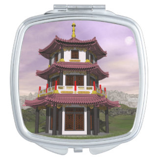 Pagoda - 3D render Travel Mirrors