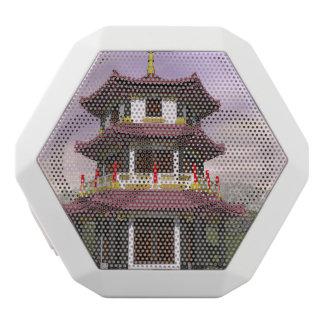Pagoda - 3D render White Bluetooth Speaker