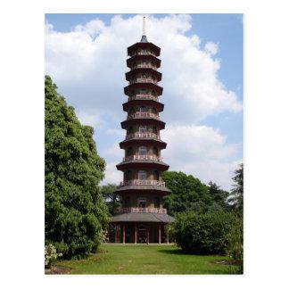 Pagoda at Kew Postcard