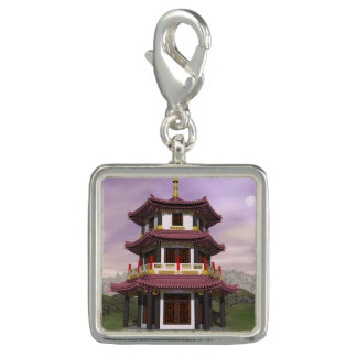 Pagoda in nature - 3D render Charm
