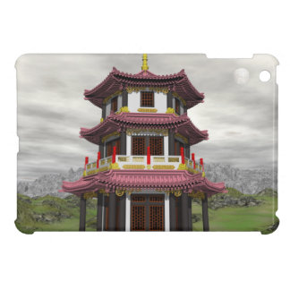 Pagoda in nature - 3D render iPad Mini Cases