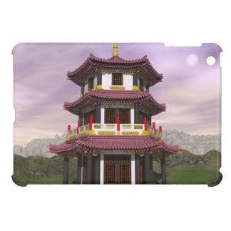 Pagoda in nature - 3D render iPad Mini Cover
