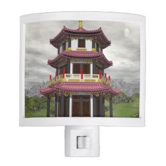 Pagoda in nature - 3D render Nite Lite