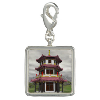 Pagoda in nature - 3D render Photo Charm