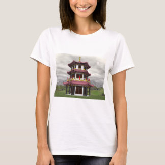 Pagoda in nature - 3D render T-Shirt