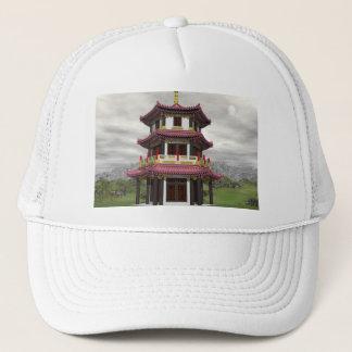 Pagoda in nature - 3D render Trucker Hat