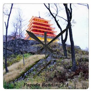 Pagoda Reading,PA Clock