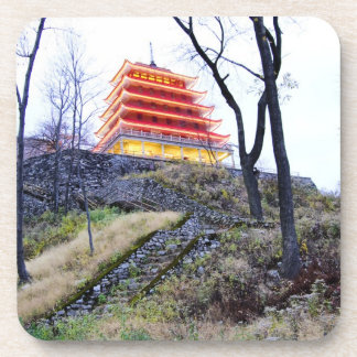Pagoda Reading,PA Drink Coaster