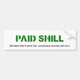 Paid Shill Sticker