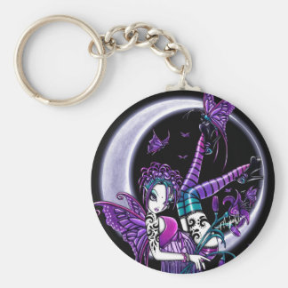 Paige Butterfly Moon Fairy Keychain
