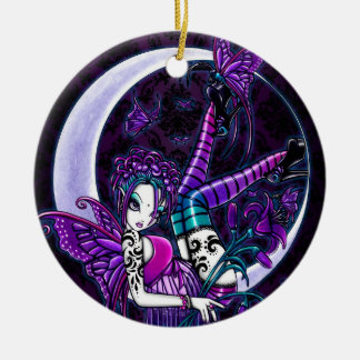 """Paige"" Gothic Tattoo Fairy Art Ornaments"