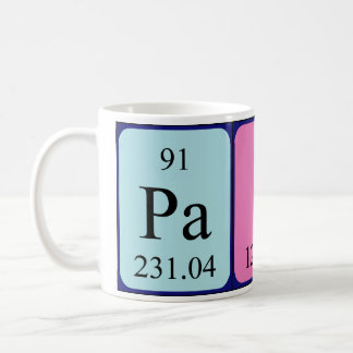 Paige periodic table name mug