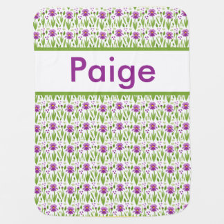 Paige's Personalized Iris Blanket