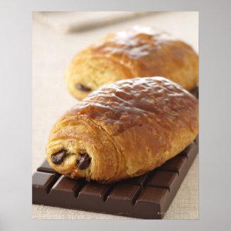 pain au chocolat poster