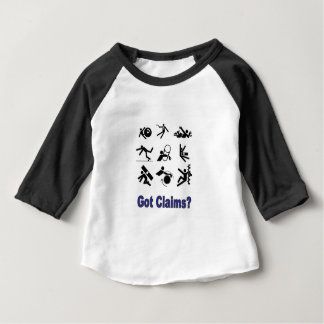 pain claims baby T-Shirt