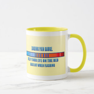Pain Gauge Loading Mug