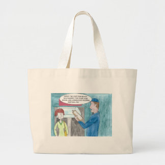 Pain in the Wallet Large Tote Bag