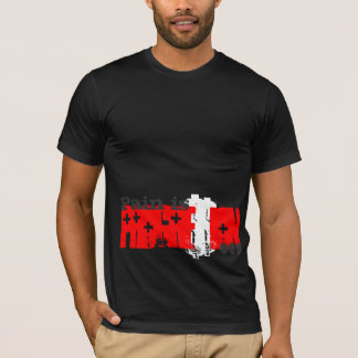 Pain is Progression Red Cross T-Shirt
