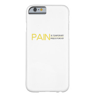 Pain is Temporary Workout Gym Funny Fitness Gift Barely There iPhone 6 Case