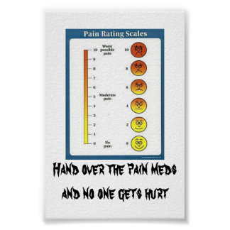 Pain Meds cards & posters