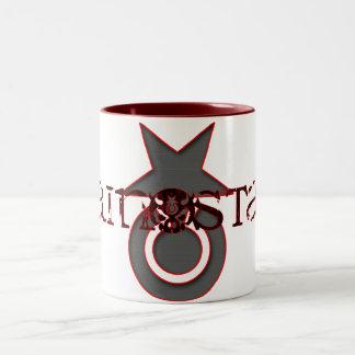 PAIN STAR   Icon Series Two-Tone Coffee Mug