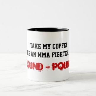 Pain Star MMA-Ground&Pound Mug