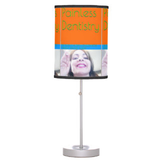 Painless Dentistry eBook/Book Cover Table Lamp
