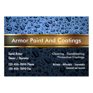 Paint And Coatings Business Card
