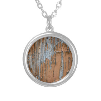 Paint Art Designed Silver Plated Necklace